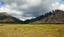 Free Plains And Peaks Of Arthur S Pass National Park Stock Photography - 15615692