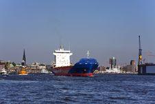 Hamburg Harbor Stock Image