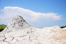 Free Muddy Volcanoes In Buzau, Romania Royalty Free Stock Image - 15616906