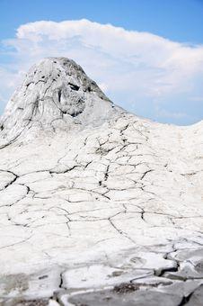 Muddy Volcanoes In Buzau, Romania Stock Image