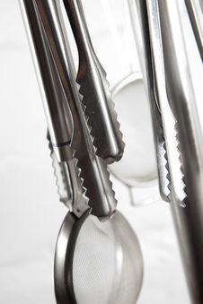 Kitchen Silver Royalty Free Stock Photography