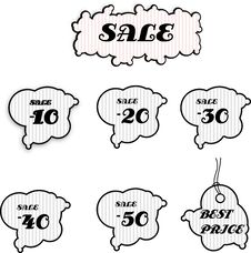 Free Sale Tags Stock Images - 15618154
