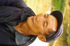 Black Hmong Man Stock Photo
