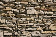 Free Stone Wall Royalty Free Stock Photos - 15619168
