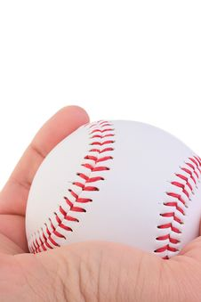 Free Holding A Baseball Stock Photography - 15619722
