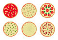 Free Pizza With Toppings 2 Stock Image - 15621191