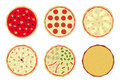 Free Pizza With Toppings 4 Stock Photography - 15621272