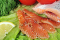 Free Pieces Of  Salmon Stock Photo - 15621370