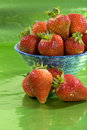 Free Strawberries In A Bowl. Royalty Free Stock Photos - 15629138