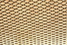 Free Golden Metal Grid Royalty Free Stock Image - 15620236