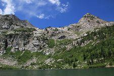 Free Mountain Lake Royalty Free Stock Photos - 15620348
