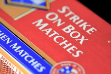 Free Match Box Royalty Free Stock Image - 15620606