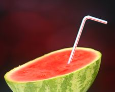 Refreshing Watermelon Drink Royalty Free Stock Photography