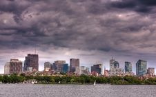 Free Boston Skyline Royalty Free Stock Photos - 15621048
