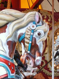 Free Carousel Horse Stock Images - 15621734