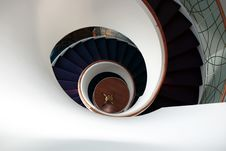 Free Looking Down A Spiral Staircase Stock Photo - 15622600
