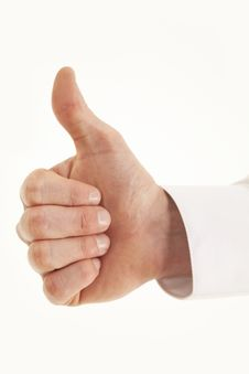 Free Thumbs Up! Royalty Free Stock Photos - 15622678