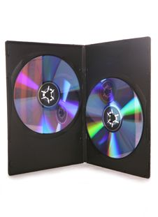Free Two DVDs In A Case Stock Photography - 15623112