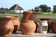 Free Clay Pots Royalty Free Stock Photos - 15623298