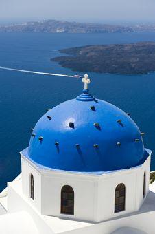 Free Church Bells On Santorini Island Stock Photos - 15623873