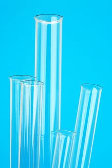 Free Glass Test Tubes In Laboratory Royalty Free Stock Image - 15624016
