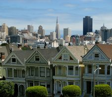 Free Alamo Square Stock Photography - 15624032