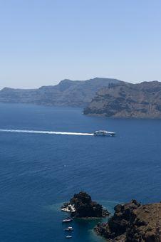 Free Santorini S Coast. Greece. Royalty Free Stock Photography - 15624077