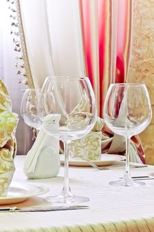 Free Of Wine Glasses Royalty Free Stock Image - 15624286