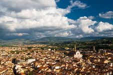 Free Santa Croce Church And Florence Royalty Free Stock Photography - 15624467