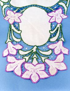 Free Handicraft Embroidery Royalty Free Stock Photo - 15624615