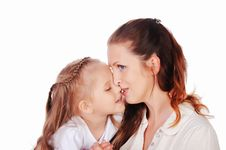 Free Mama And Her Little Daughter Stock Photo - 15624660