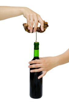 Free To Uncork A Bottle Stock Photography - 15624672