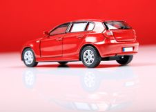 Free Red Hatchback Royalty Free Stock Photo - 15625715
