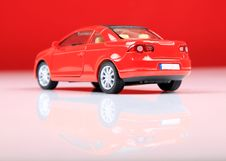 Free Volkswagen Eos Back View Stock Photo - 15625830