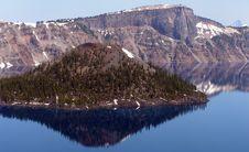 Free Crater Lake Oregon Royalty Free Stock Image - 15626076