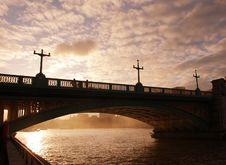 Free Blackfriars Bridge London Stock Image - 15626331