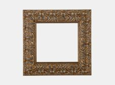Antiique Gilt Picture Frame Royalty Free Stock Image