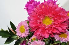 Free Bouquet Of Pink Flowers Stock Image - 15626641