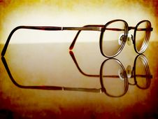 Free Antique Glasses Royalty Free Stock Photo - 15626965