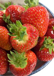 Ripe Red Strawberries. Royalty Free Stock Photography