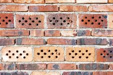 Free Old Red Brick Wall Royalty Free Stock Images - 15628279