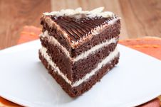 Free Chocolate Cake Royalty Free Stock Photography - 15629047