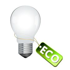 Free Eco Light Bulb Royalty Free Stock Photography - 15629797