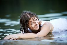 Free Portrait Of Beautiful Sexy Girl Outdoors Royalty Free Stock Photos - 15629838