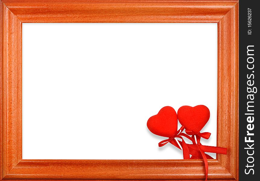 Two Hearts Frame - Free Stock Images & Photos - 15626237 ...