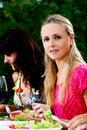 Free Beautiful Girls Drinking Wine Royalty Free Stock Photography - 15630407