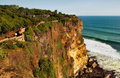 Free Cliff Over The Ocean Royalty Free Stock Photography - 15630477