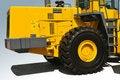 Free Yellow Bulldozer Background Stock Photo - 15631050