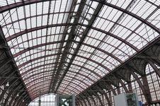 Free Antwerp Railway Station Royalty Free Stock Photos - 15639108