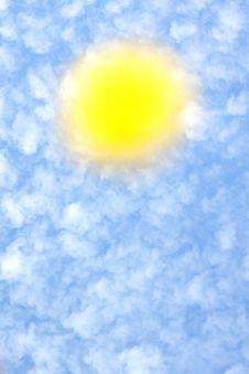 Free Sunny Sky Royalty Free Stock Image - 15639236